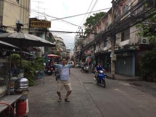 バンコクの路地
