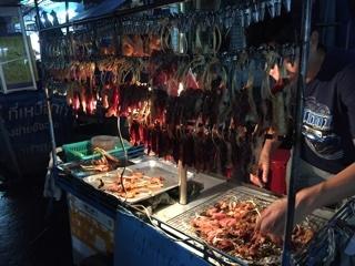豚・牛肉焼きの屋台