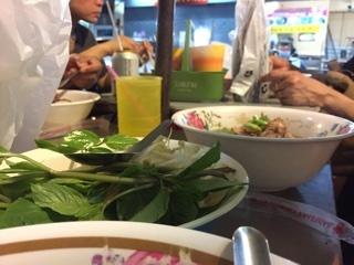 麺のトッピング用の野菜