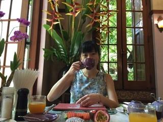 マダムの朝食?