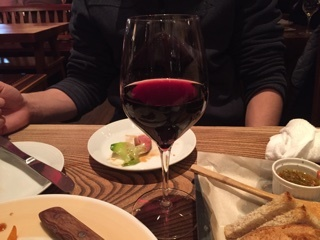 グラスワイン赤