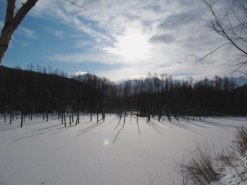 s-白い池へ…