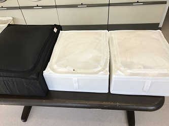 羽毛布団の洗濯8
