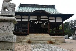 吉浦八幡神社 拝殿