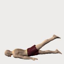 伏・股伸展・自動・膝伸展 やわらかい