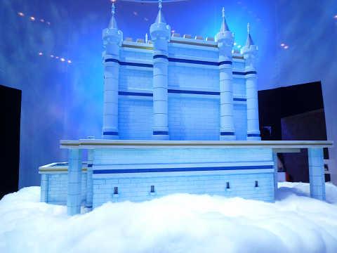 ドラゴンクエスト展 天空城 裏側