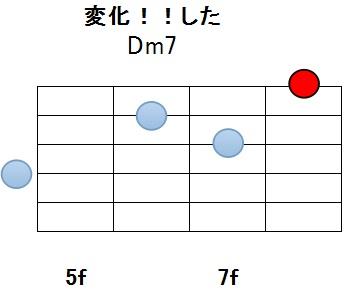 Dm7変化12w_メロディ