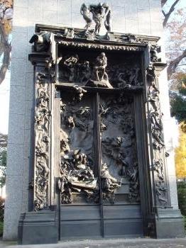 地獄の門 と銀杏