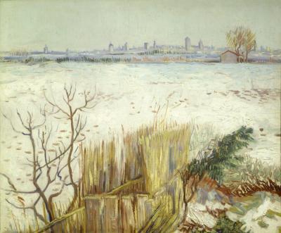 ゴッホの雪景色