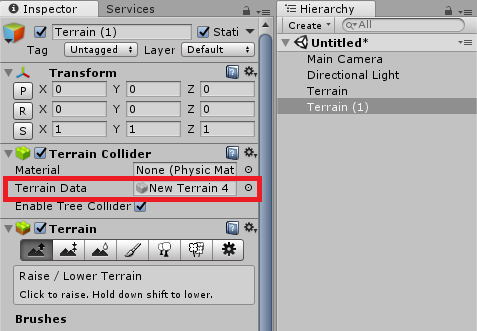 Unity】GUI側で地形をコピーする時の注意【地形連動問題】 - Boys, be