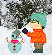 spaceplusKK(snowman)90