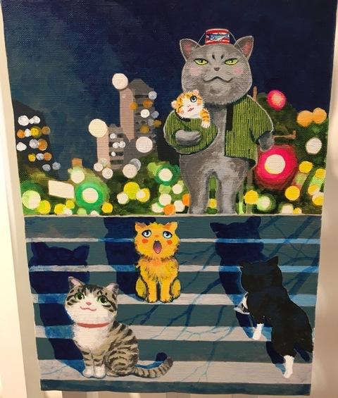 11月27日夜廻り猫展
