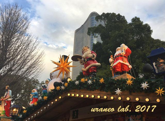 12月18日クリスマスマーケット日比谷公園3