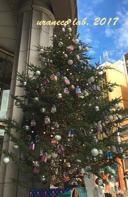 12月11日三越クリスマスツリー2