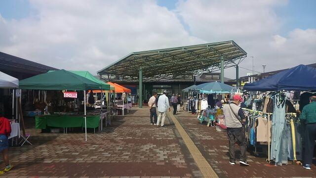 道の駅まくらがの里こがフリーマーケット2017