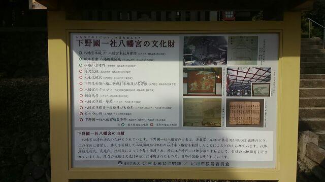下野國一社八幡宮 説明2017