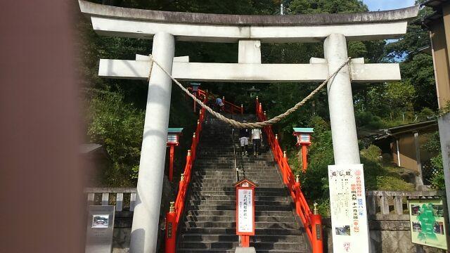足利織姫神社正面大鳥居2017
