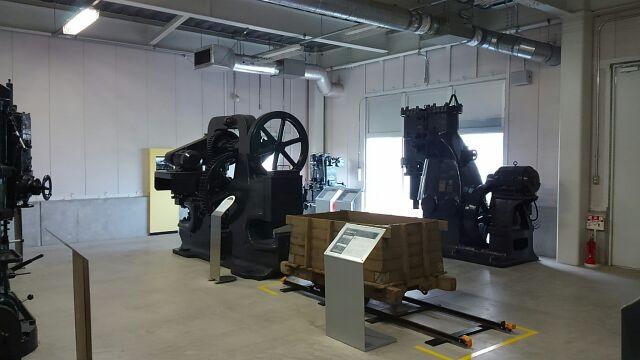 道の駅水の郷さわら工作機械展示2017