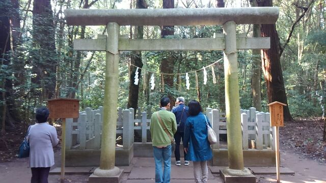 鹿島神宮要石2017