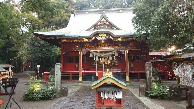 冠稲荷神社 拝殿2017