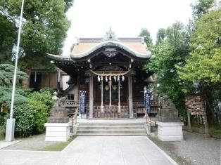 住吉神社(中原区木月)