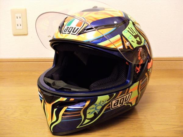 AGV K3-SV ヘルメットインプレ( ゚ω゚ )