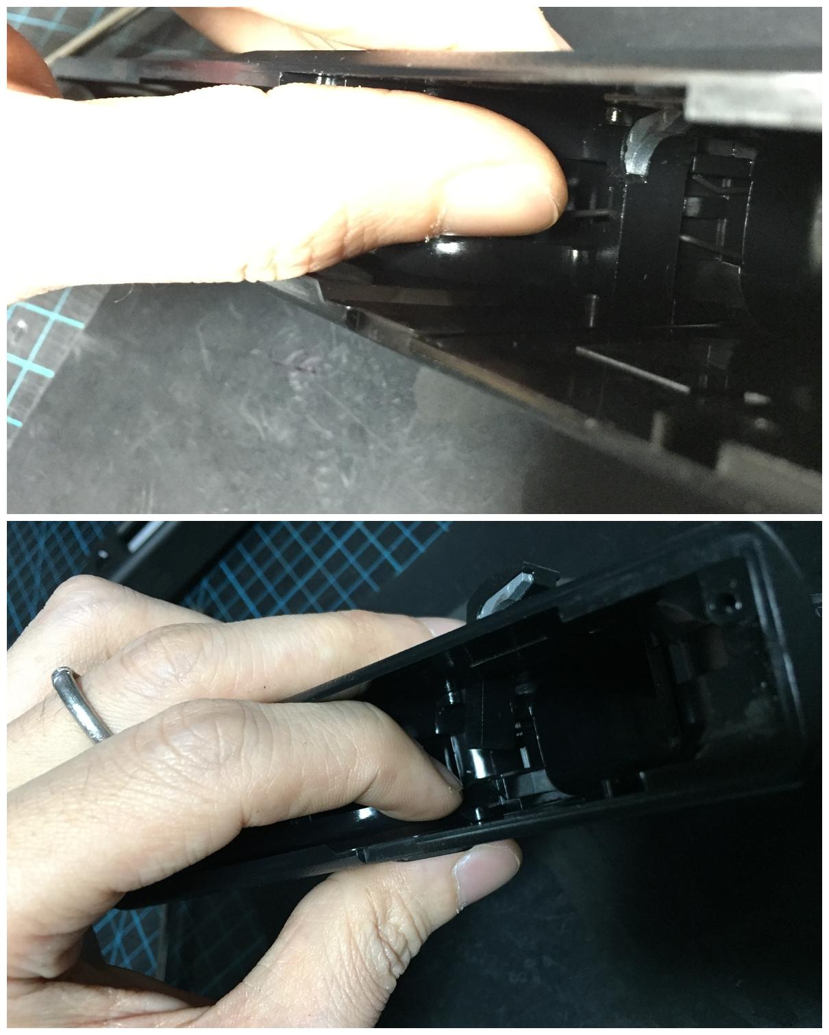 グロック18C ステッピングフレーム取付 分解