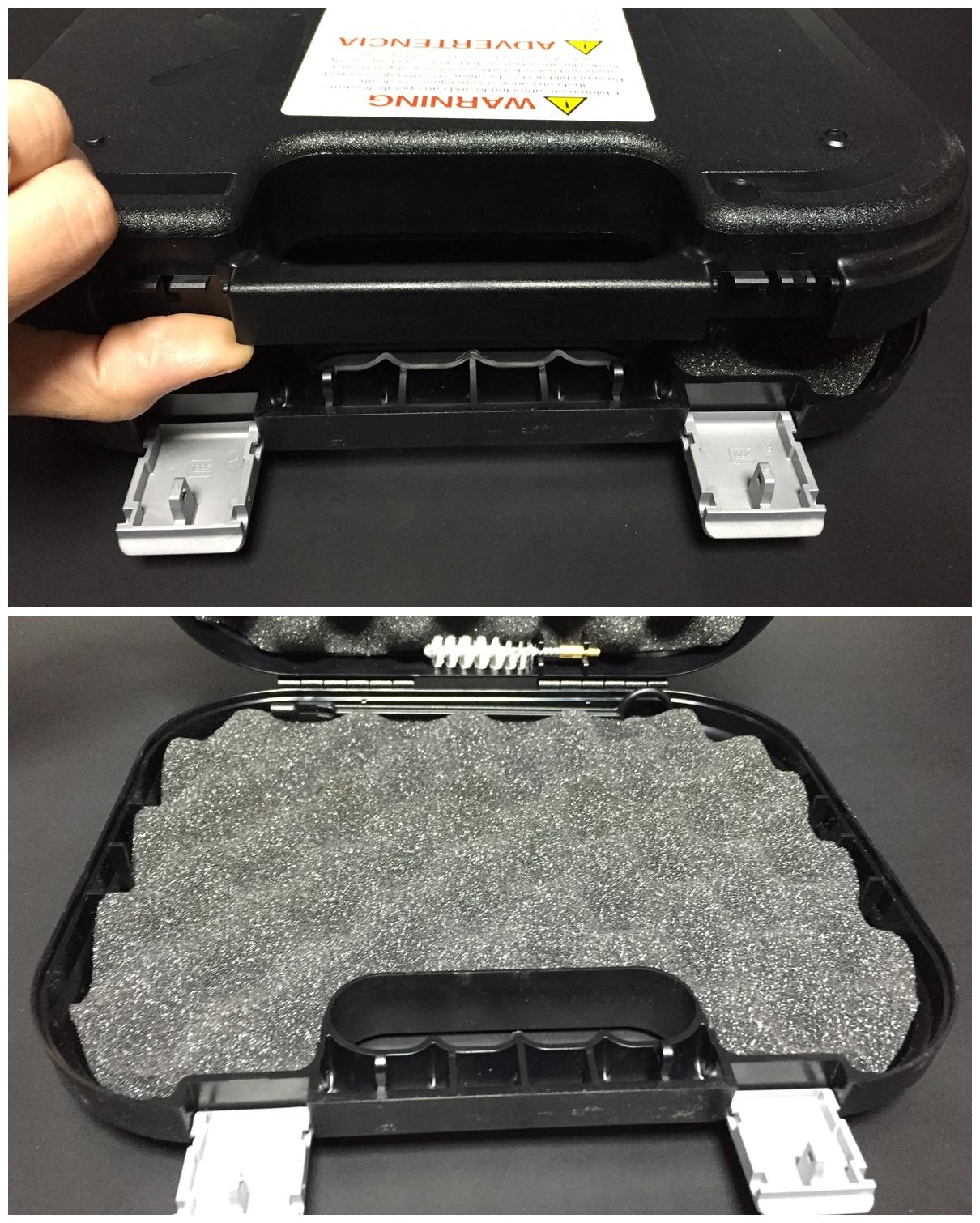4 グロック社 純正 実銃用 ハードガン ケース.JPG
