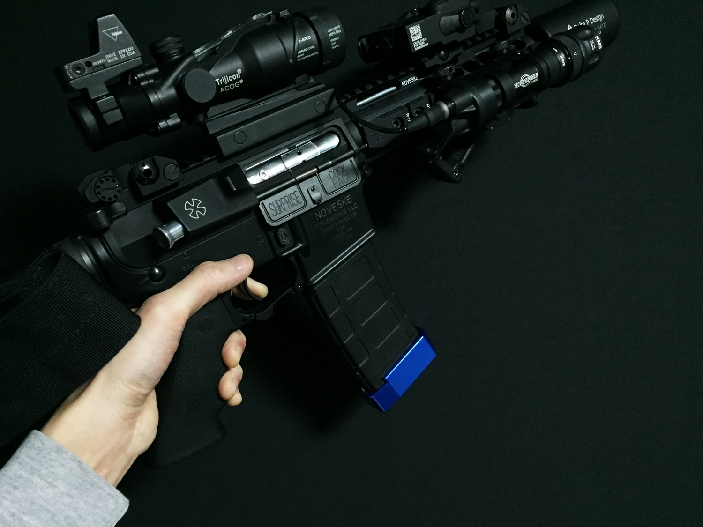 14 次世代 M4 PTS P-MAG UAC アルミニウム マガジン ベース パッド 取付 レビュー