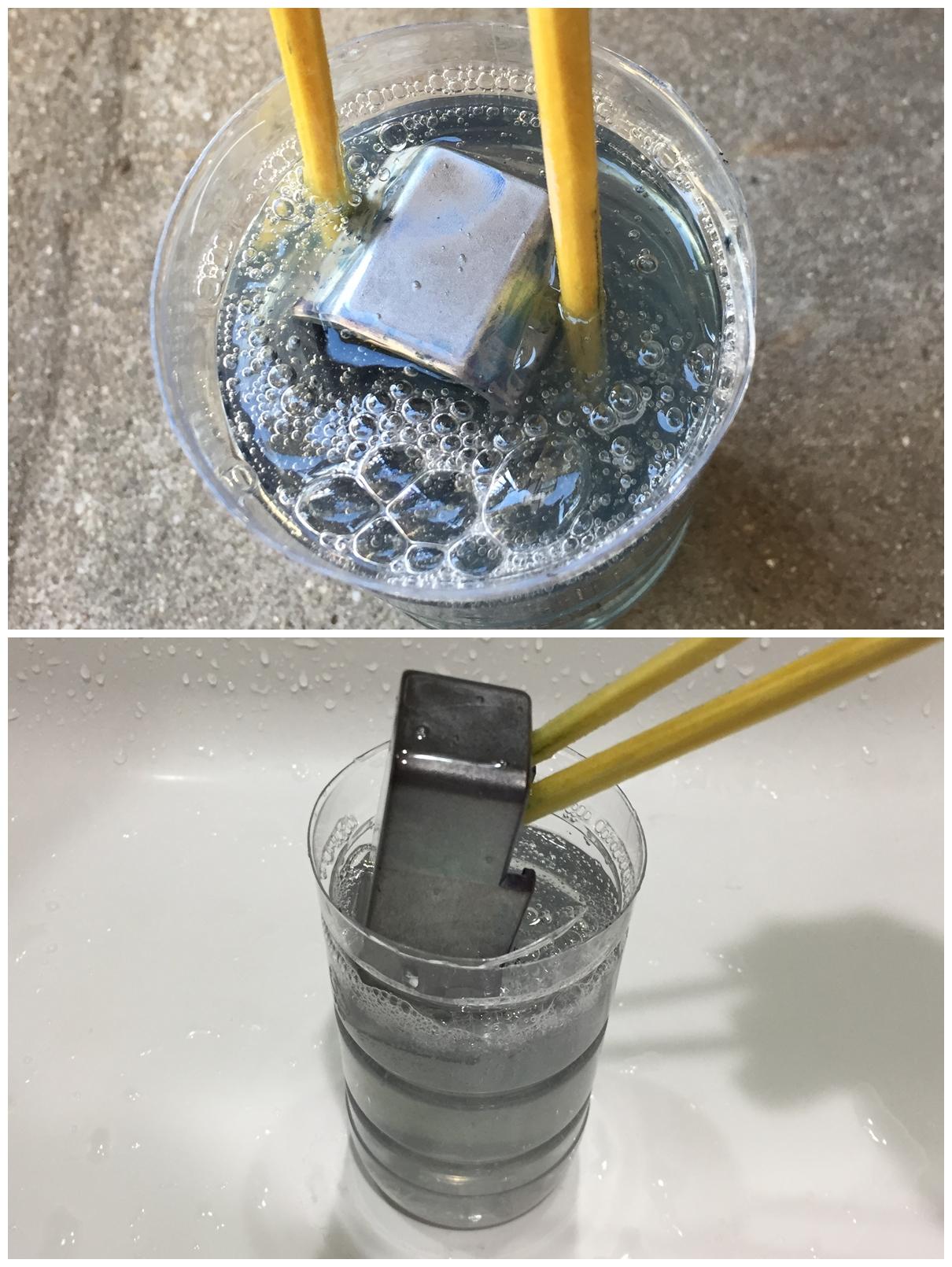 7 簡単 アルマイト 除去 ポリッシュ 鏡面 加工 UAC P-MAG アルミニウム マガジン ベース パッド