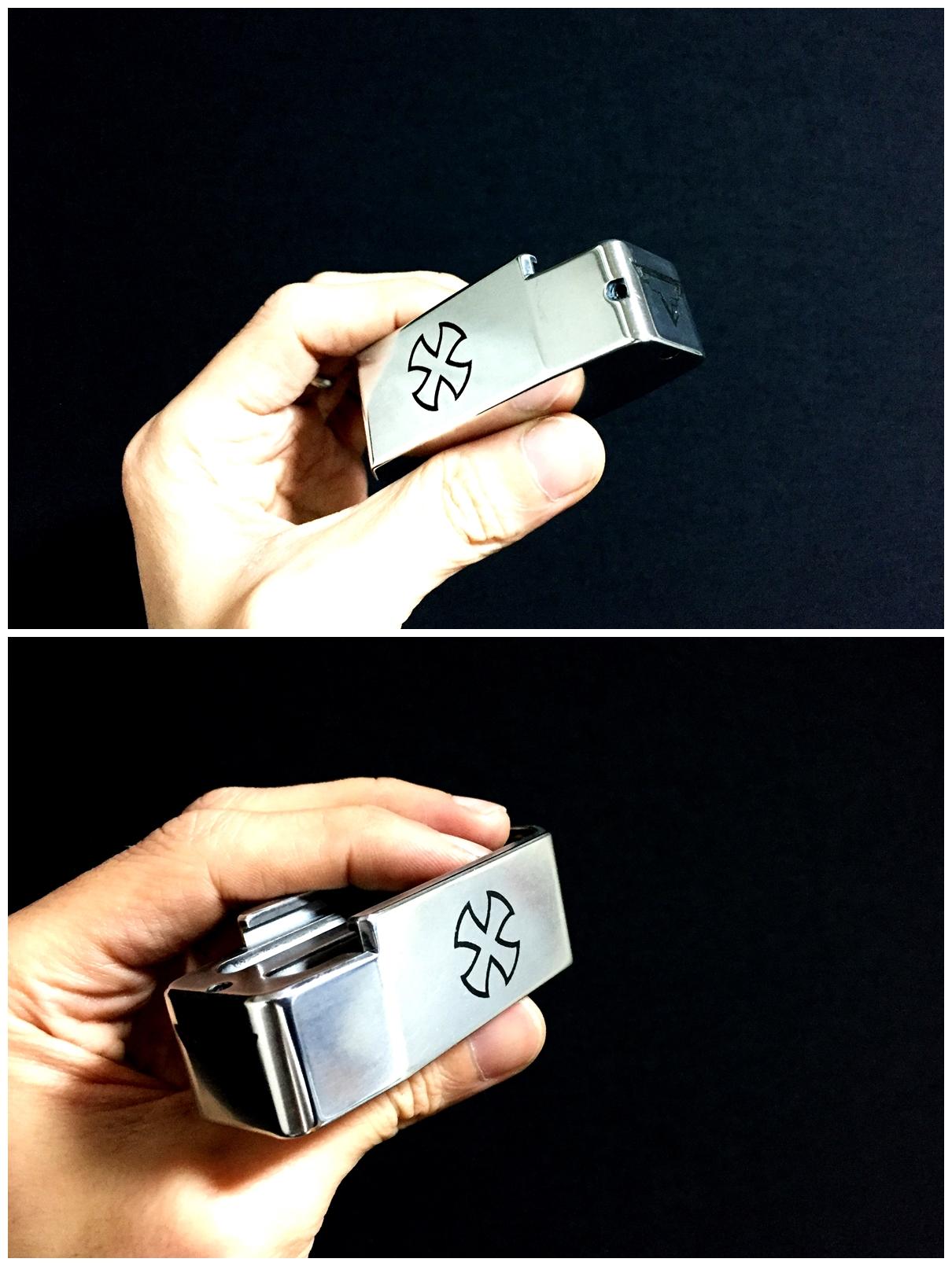 7 ブルーイング 刻印 TTI タイプ レプリカ NOVESKE 自作DIY 加工 UAC P-MAG アルミニウム マガジン ベース パッド