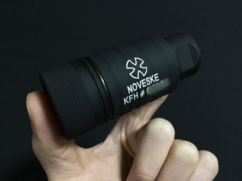 1 NOVESKE KFH MADBULL 社製 Noveske公認 マットブル フラッシュハイダー 14mm 逆ネジ 高品質 レプリカ
