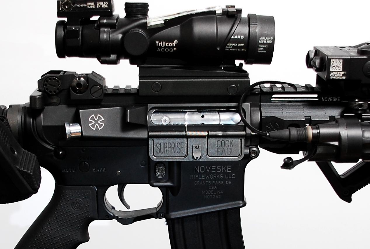 3次世代 M4 NOVESKE LayLax First Factory MG メタル ロアフレーム カスタム 刻印