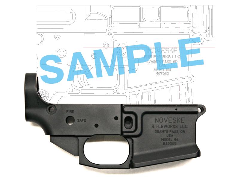 1次世代 M4 NOVESKE LayLax First Factory MG メタル ロアフレーム カスタム 刻印