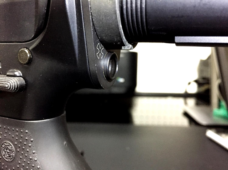 6次世代 M4 NOVESKE QD Bum Ble Bee バンブルビー スリング エンドプレート アダプター 取付 レビュー