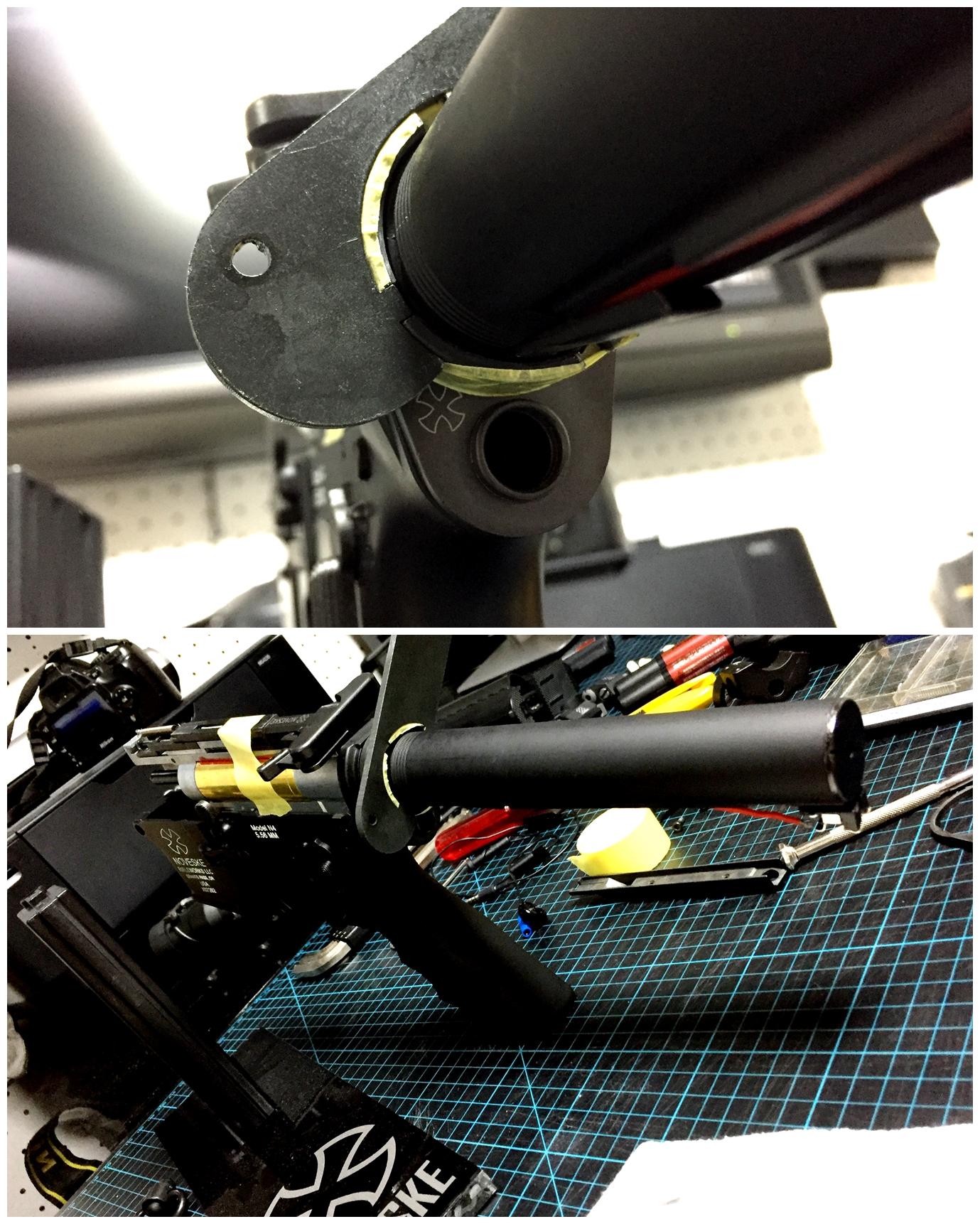 4次世代 M4 NOVESKE QD Bum Ble Bee バンブルビー スリング エンドプレート アダプター 取付 レビュー