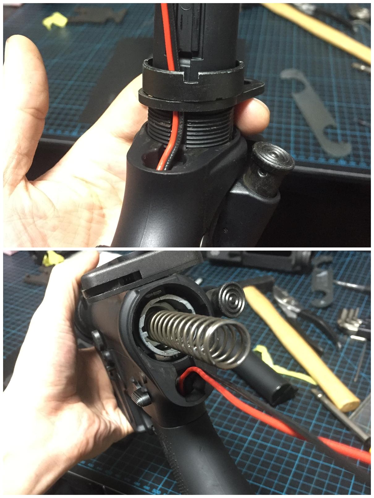 12取付 次世代 M4 NOVESKE QD Bum Ble Bee バンブルビー スリング エンドプレート アダプター 取付 レビュー