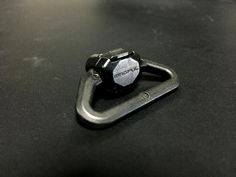 2マグプル社製 実物 スリング スベイル Magpul Industries QDM QD Sling Swivel USA 取付 レビュー