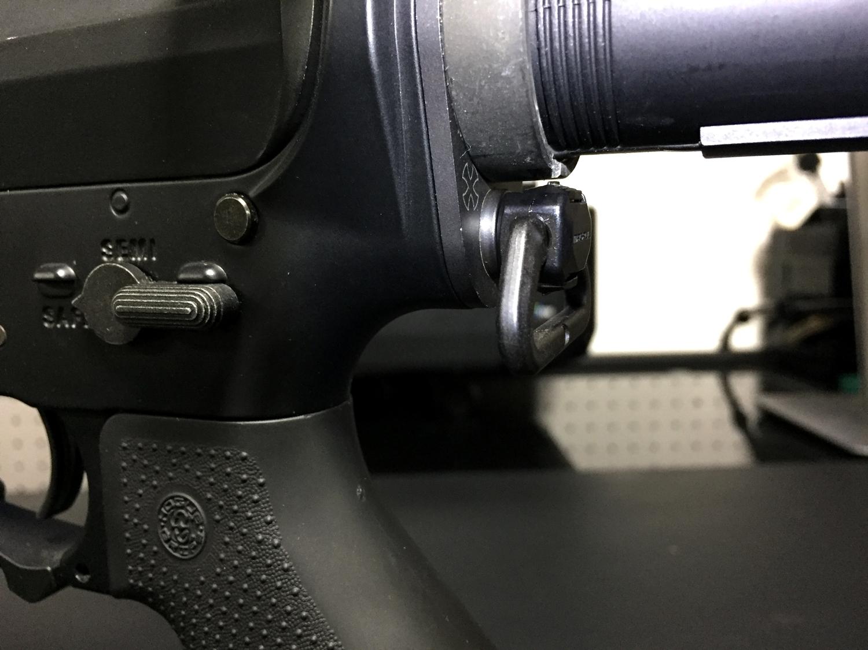 7マグプル社製 実物 スリング スベイル Magpul Industries QDM QD Sling Swivel USA 取付 レビュー