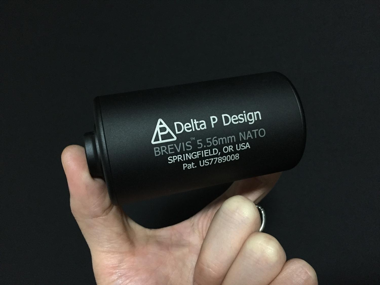 1MADBULL Delta P Design Brevis Barrel Extension 極太 サイレンサー & NOVESKE サイレンサー 比較 レビュー