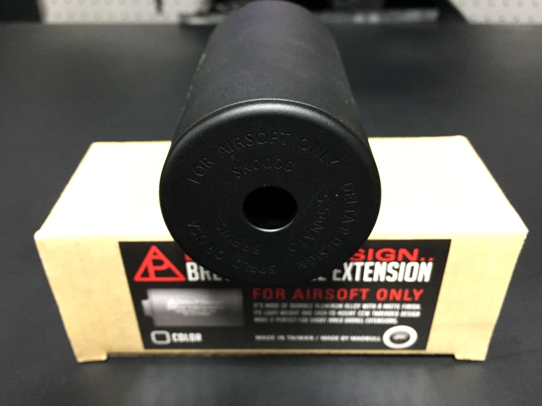6MADBULL Delta P Design Brevis Barrel Extension 極太 サイレンサー & NOVESKE サイレンサー 比較 レビュー
