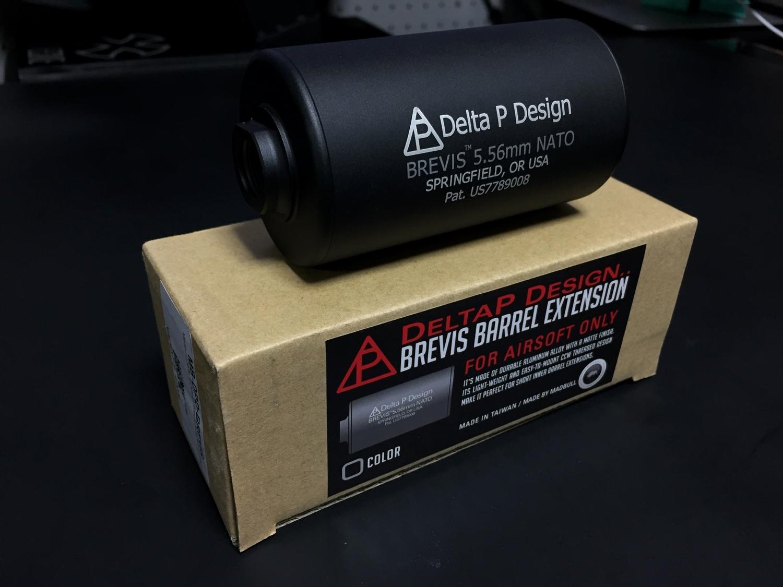 4MADBULL Delta P Design Brevis Barrel Extension 極太 サイレンサー & NOVESKE サイレンサー 比較 レビュー