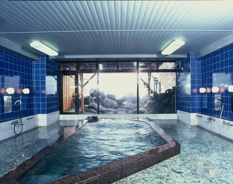 志賀高原日帰り温泉の大浴場・女湯