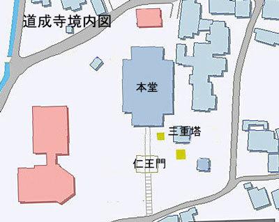 道成寺境内図