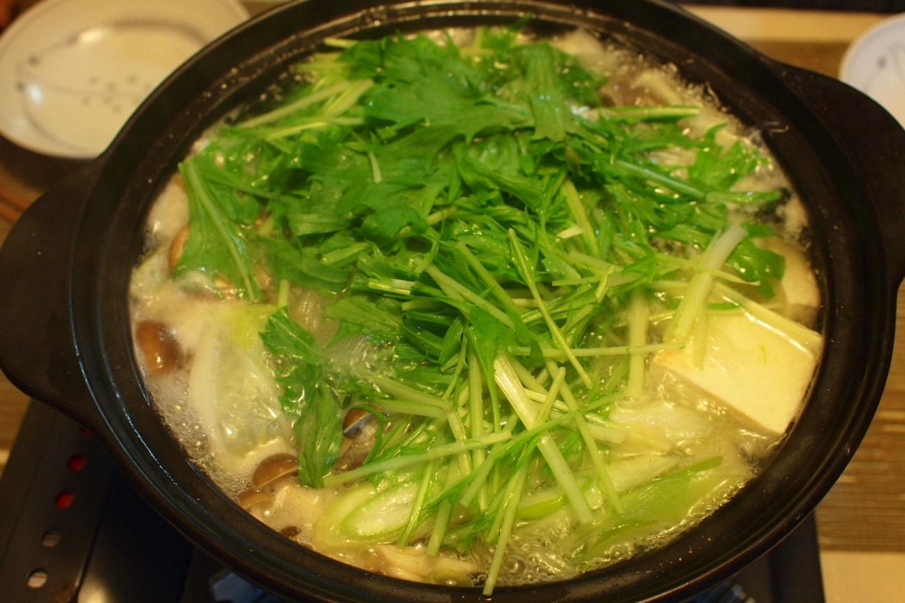 水菜の鍋!
