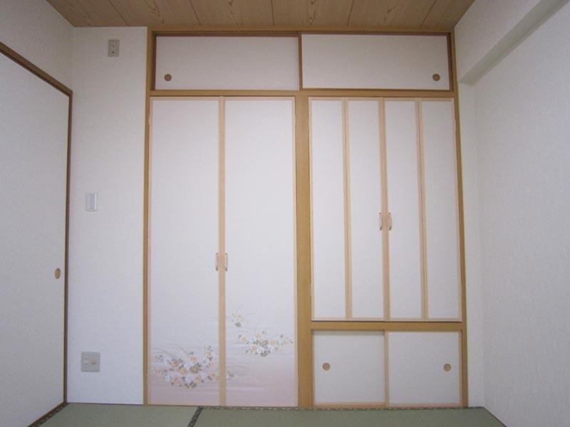 赤司邸仏壇スペース閉