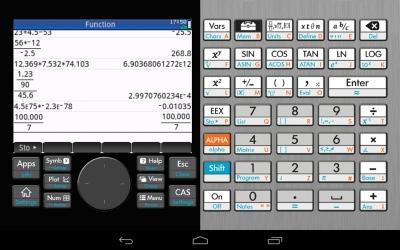 HP Prime Graphing Calculator (横表示) タイトル表示無し