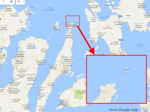 マラパスクワ島地図