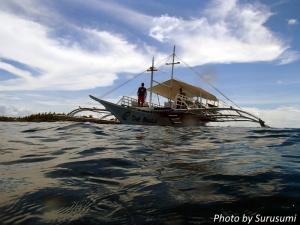マラパスクワ・ダイビングボート