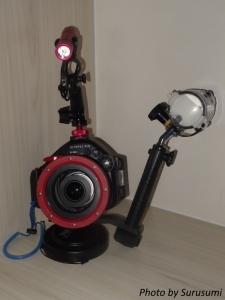 オリンパスE-PL1 ダイビングシステム